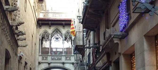 Tältä näytti Barcelonan joulu