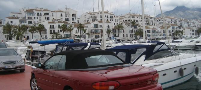 Puerto Banus, luksusta joka lähtöön