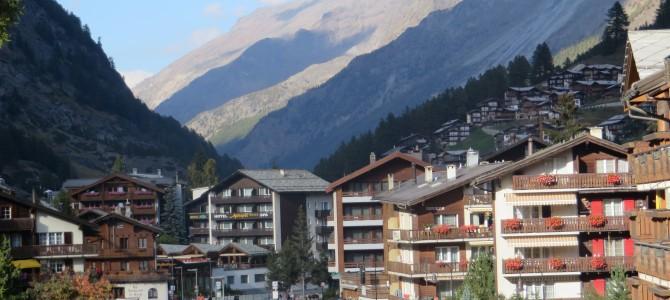 Sveitsi 1: Zermatt, kuin postikortista