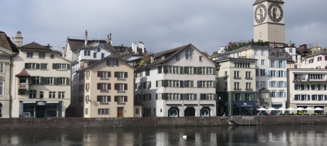 Sveitsi 4: sightseeing in Zürich