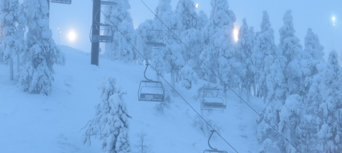 Ruka 1: winter wonderland