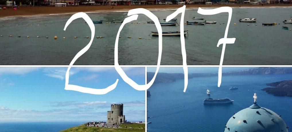 Vuoden 2017 matkat (melkein) tehty