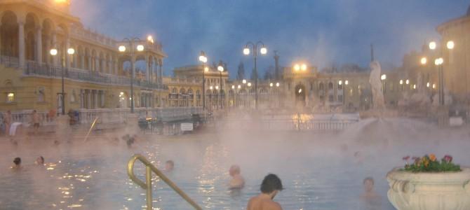 Budapest, upea myös talvella