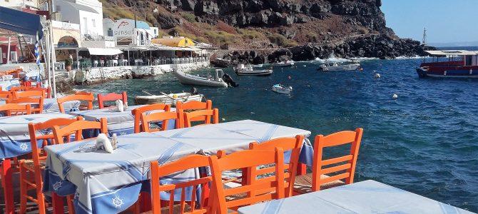 Ammoudi Bay, Santorinin salattu aarre