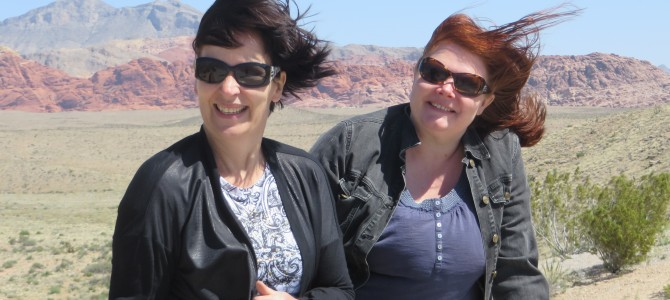 Red Rock Canyon: Tuule, TUULE!